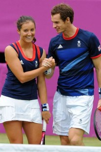Olympic Stars - Andy Murray and Laura Robson